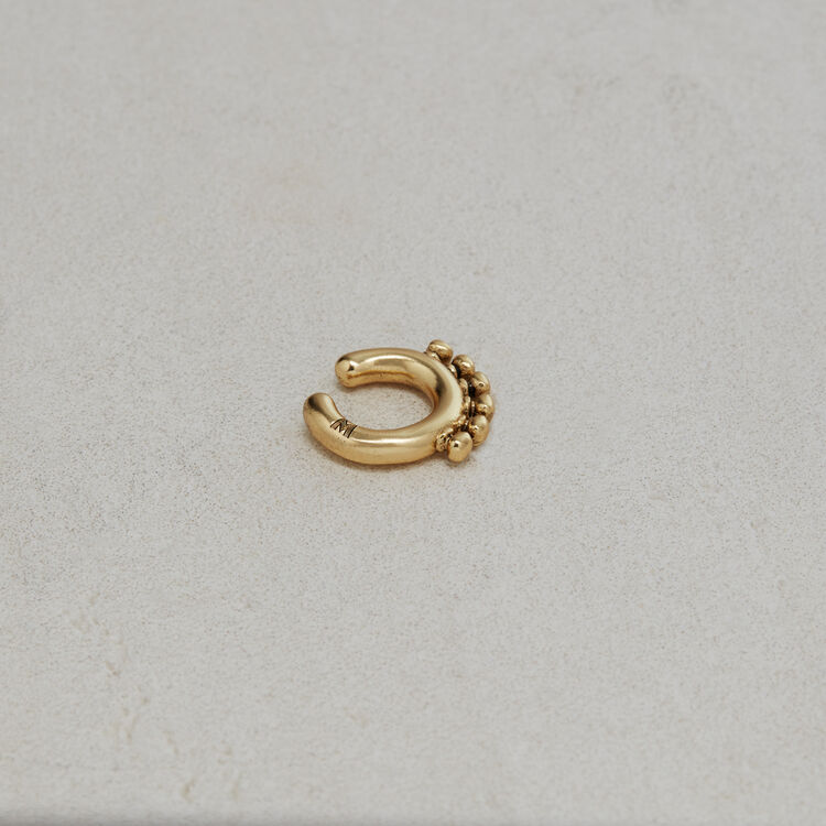 """Arty"" earcuff : Jewelry color GOLD"
