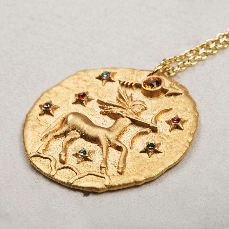 Collier Sagittaire signe du zodiaque : Bijoux couleur OR