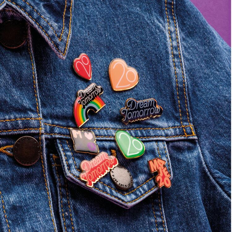 Pins X Maje 20 ans : Urban couleur MULTICO