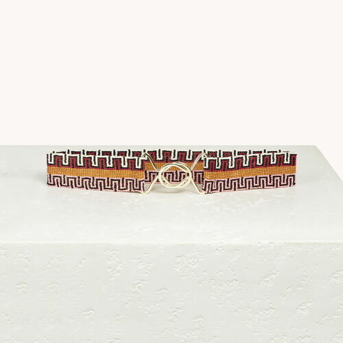 Beaded belt - Belts - MAJE