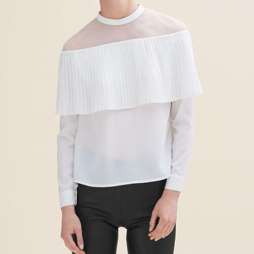 Off-the-shoulder top - Tops - MAJE