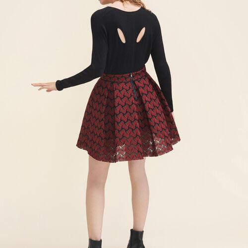 Fine wool blend jumper : Sweaters & Cardigans color Ecru