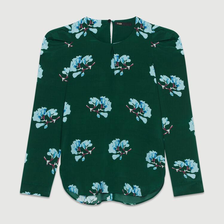 Blouse à imprimé floral : Prêt-à-porter couleur IMPRIME