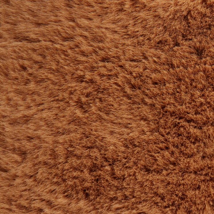 Sac M Mini en fourrure fantaisie : M Mini couleur Beige