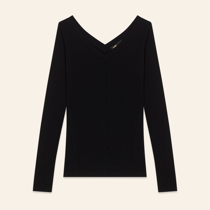 Tee-shirt en jersey : T-shirts couleur Black