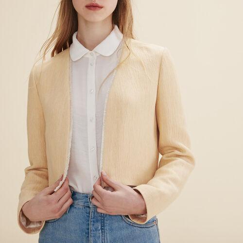 Short jacket : Blazers color Nude