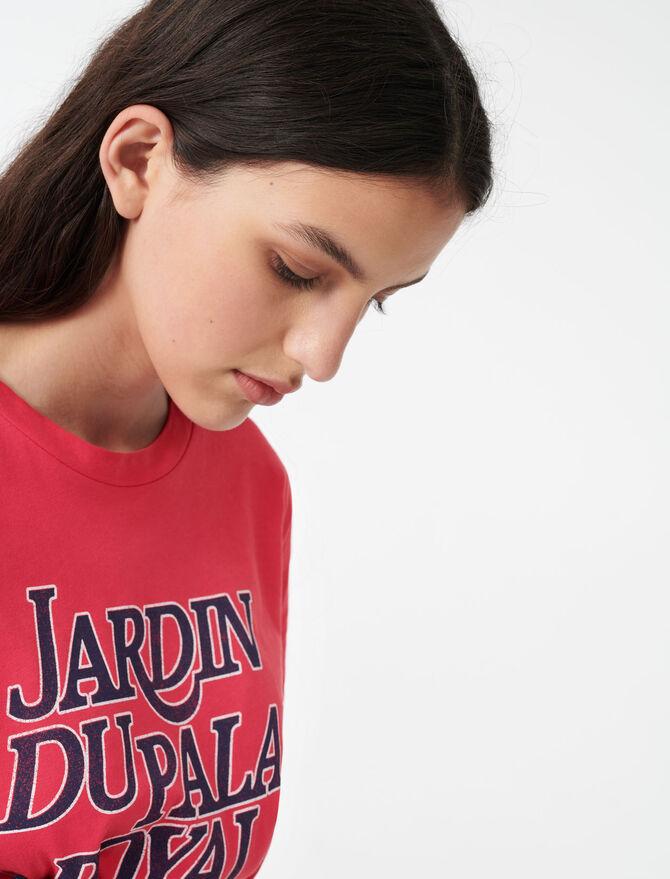 Tee-Shirt sérigraphié - T-Shirts - MAJE