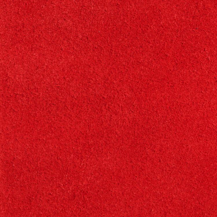 Sac M en suède : Sac M couleur ROUGE