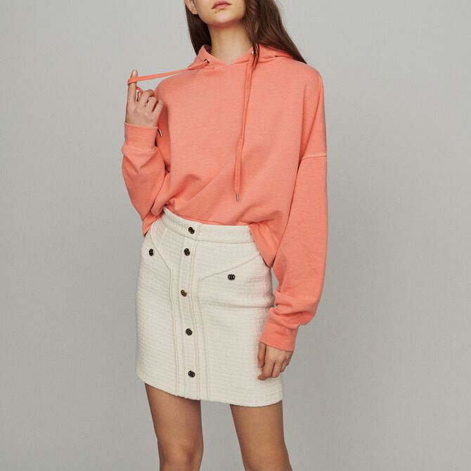 Short tweed-style skirt - See all - MAJE