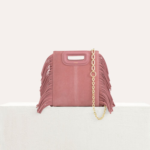 M mini-bag with chain : M Mini color Pink