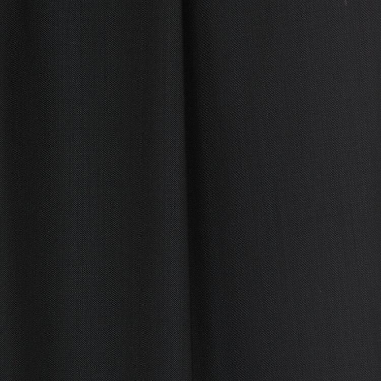 Pantalon à pinces en laine vierge : Prêt-à-porter couleur Black