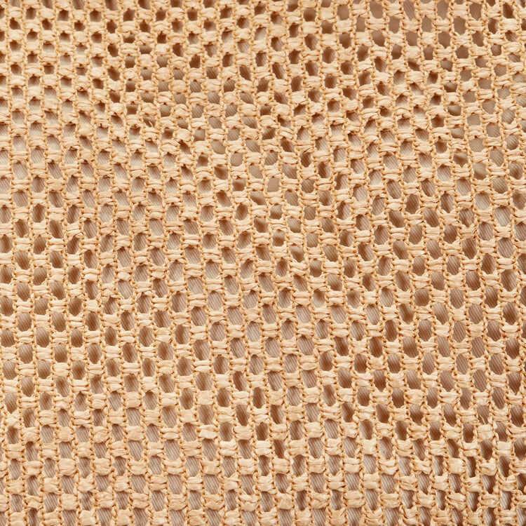 Cabas en raphia et cuir : Tout voir couleur NATURELS
