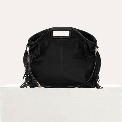 Cabas M en cuir : Cabas & M Walk couleur Black