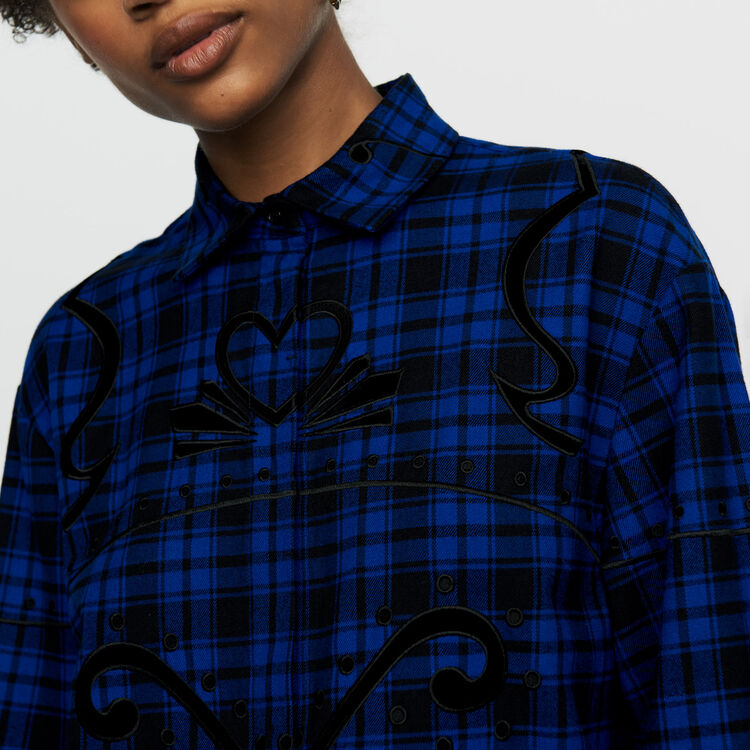 Chemise à carreaux : Chemises couleur CARREAUX