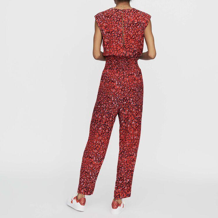 Combinaison-pantalon sans manches : Combinaisons couleur IMPRIME