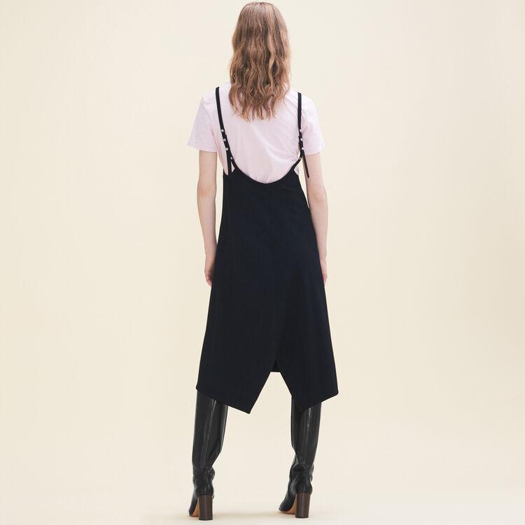 Robe courte à bretelles : Robes couleur Black