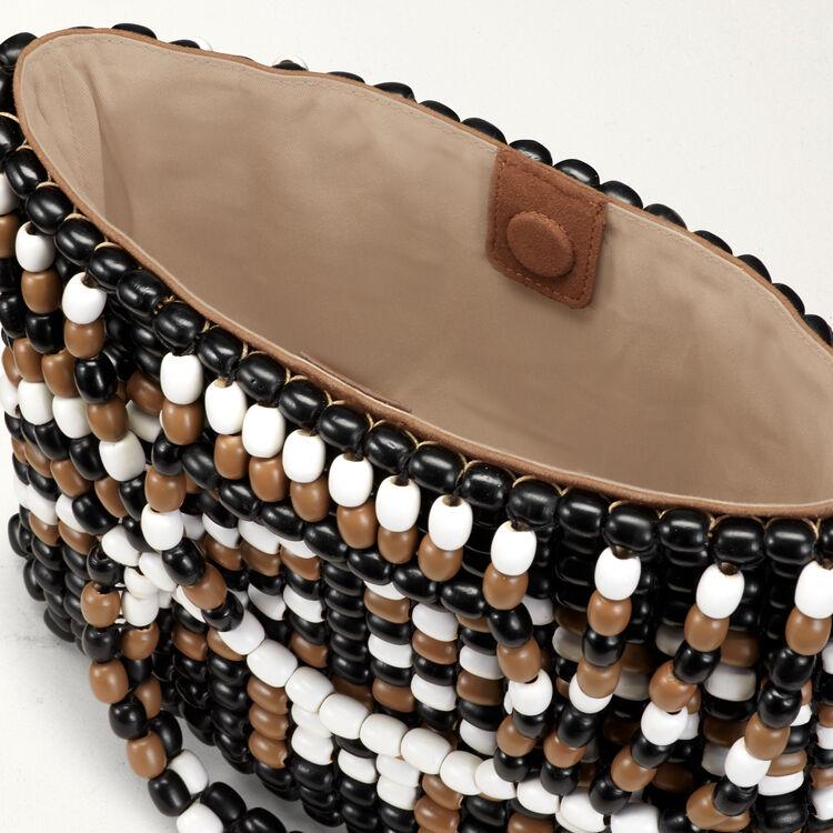 Sac M en perles : Sacs M couleur MULTICO