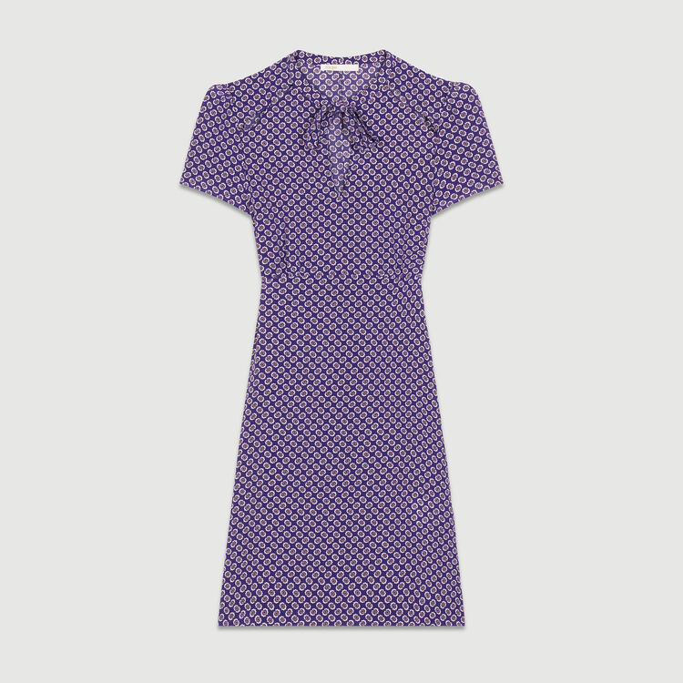 Robe imprimée en soie : Robes couleur IMPRIME