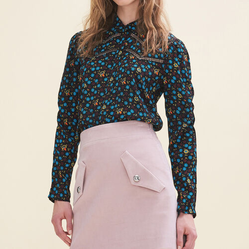 Floral-print blouse : Tops color PRINTED