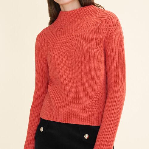 Pull en maille épaisse : Pulls & Cardigans couleur Orange
