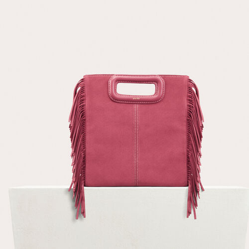 Suede M bag : Sacs color Pink