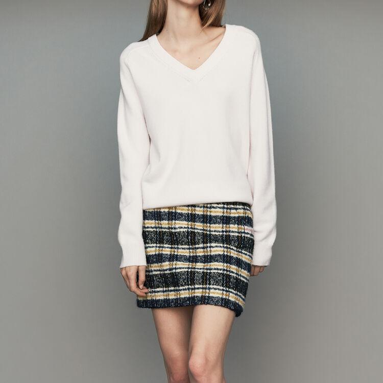 Pull oversize en laine et cachemire : Prêt-à-porter couleur ECRU