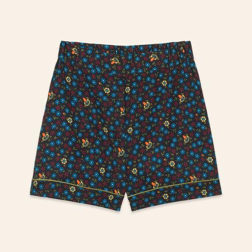 Short à imprimé floral : Jupes & Shorts couleur IMPRIME