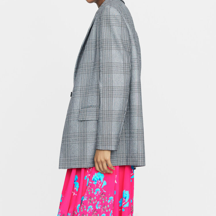 Veste de tailleur : Prêt-à-porter couleur CARREAUX