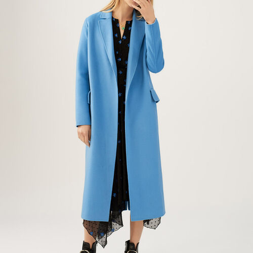 Long double-sided coat - Pre-collection - MAJE