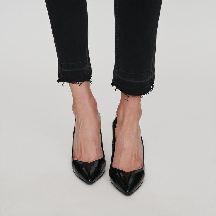 Jean slim basique : Pantalons & Jeans couleur Anthracite