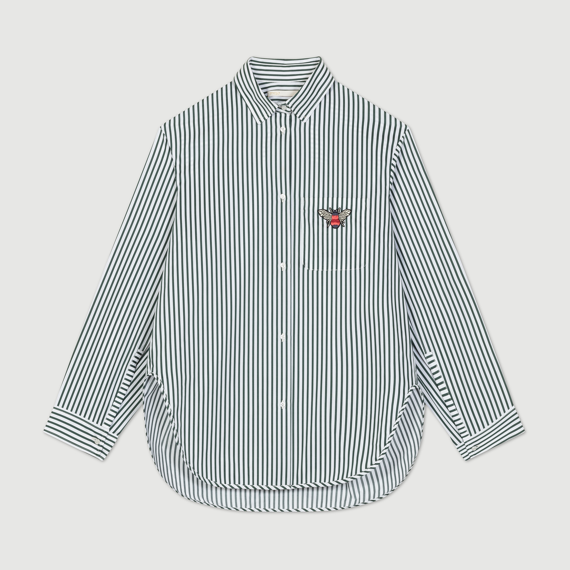 Striped shirt - Shirts - MAJE