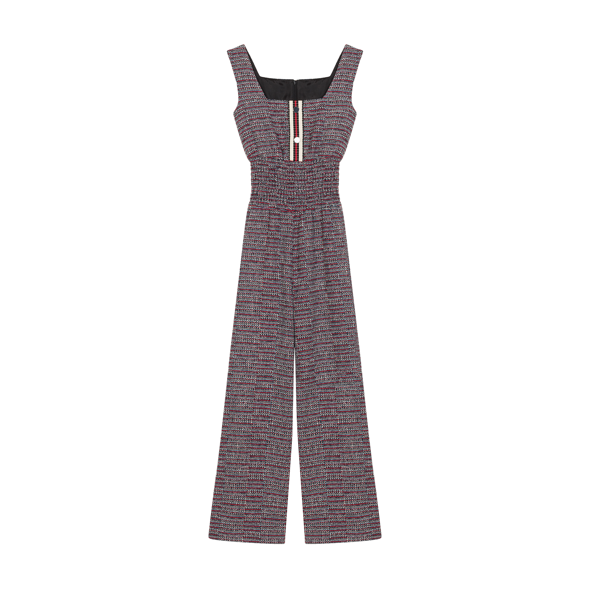 Tweed jumpsuit - Trousers - MAJE