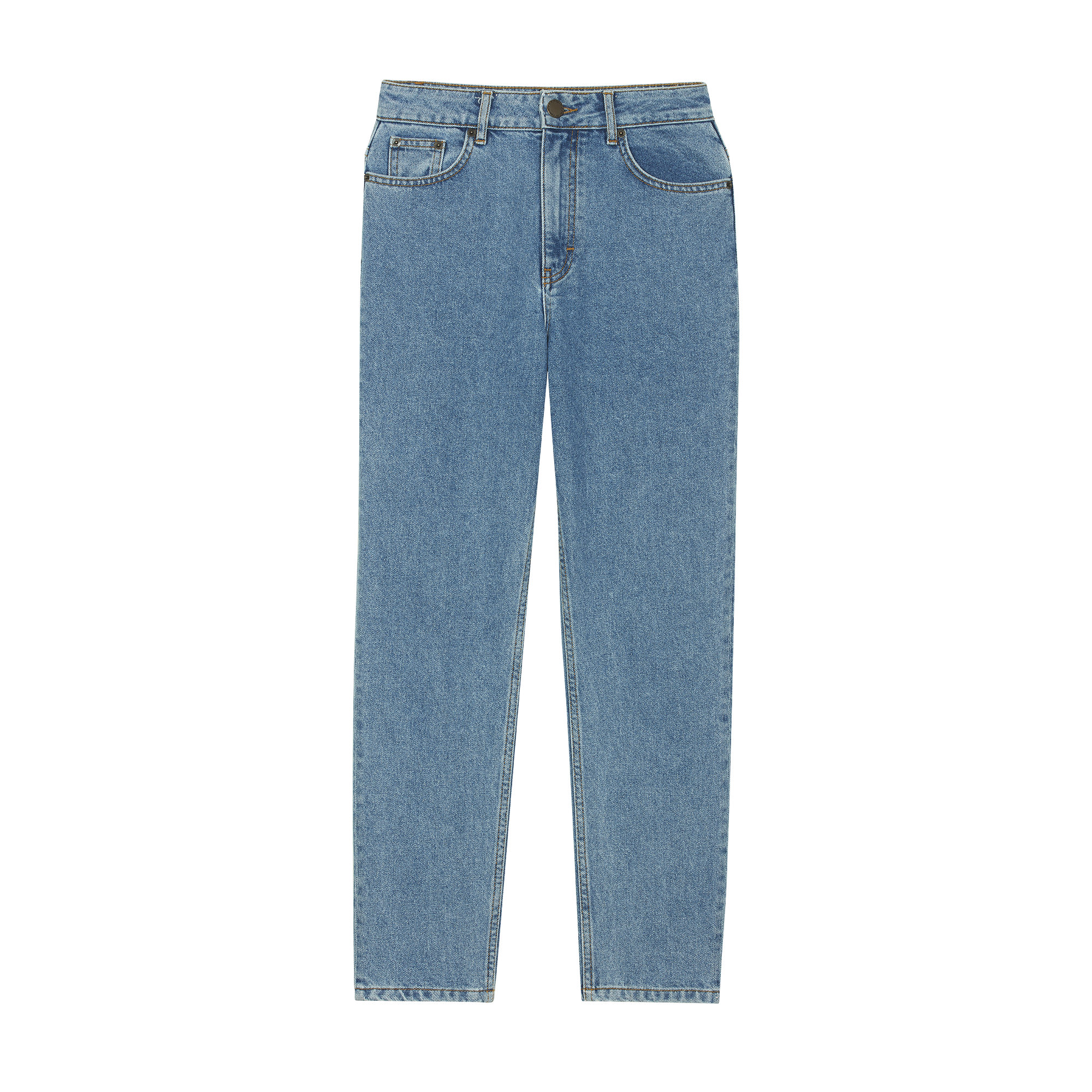 Wide jeans in distressed denim - Jeans - MAJE
