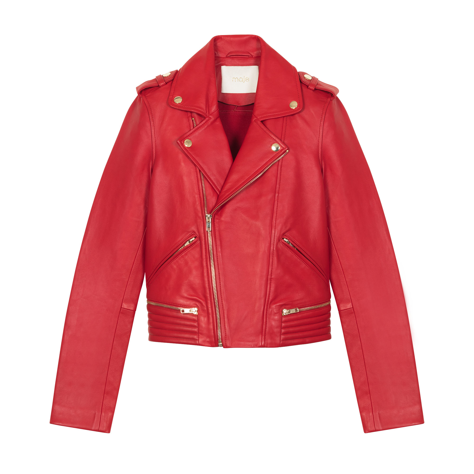 Perfecto leather jacket - Jackets - MAJE